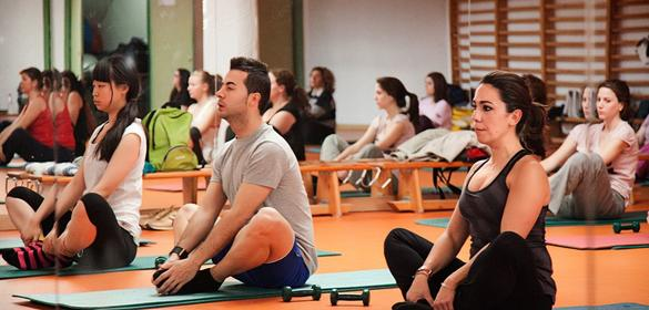 Pilates en la Universidad de Jaén