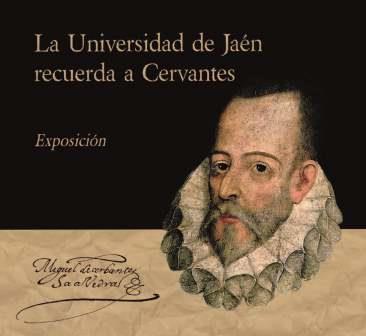 Portada del Catálogo la Universidad de Jaén recuerda a Cervantes