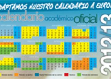Calendario Ujaen.Calendario Academico Oficial 2012 2013 Vicerrectorado De