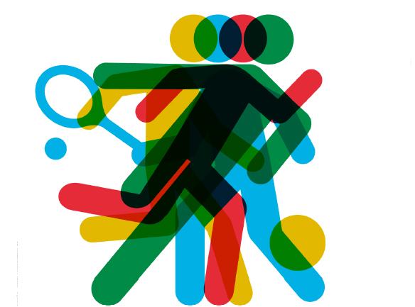Fondo Con Iconos De Deporte: Bendinat Ciclo Formativo