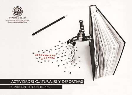 Imagen promocional de la guía de acitvidades culturales y deportivas de septiembre a diciembre de 2015