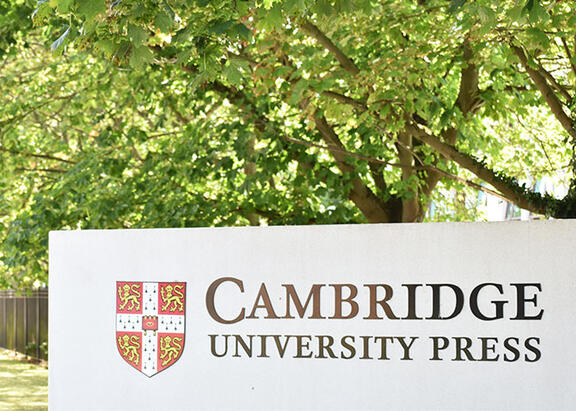 cartel de Cambridge University Press