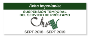 suspension prestamo cbua