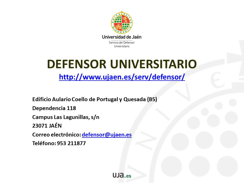 Tutorial Defensor Universitario