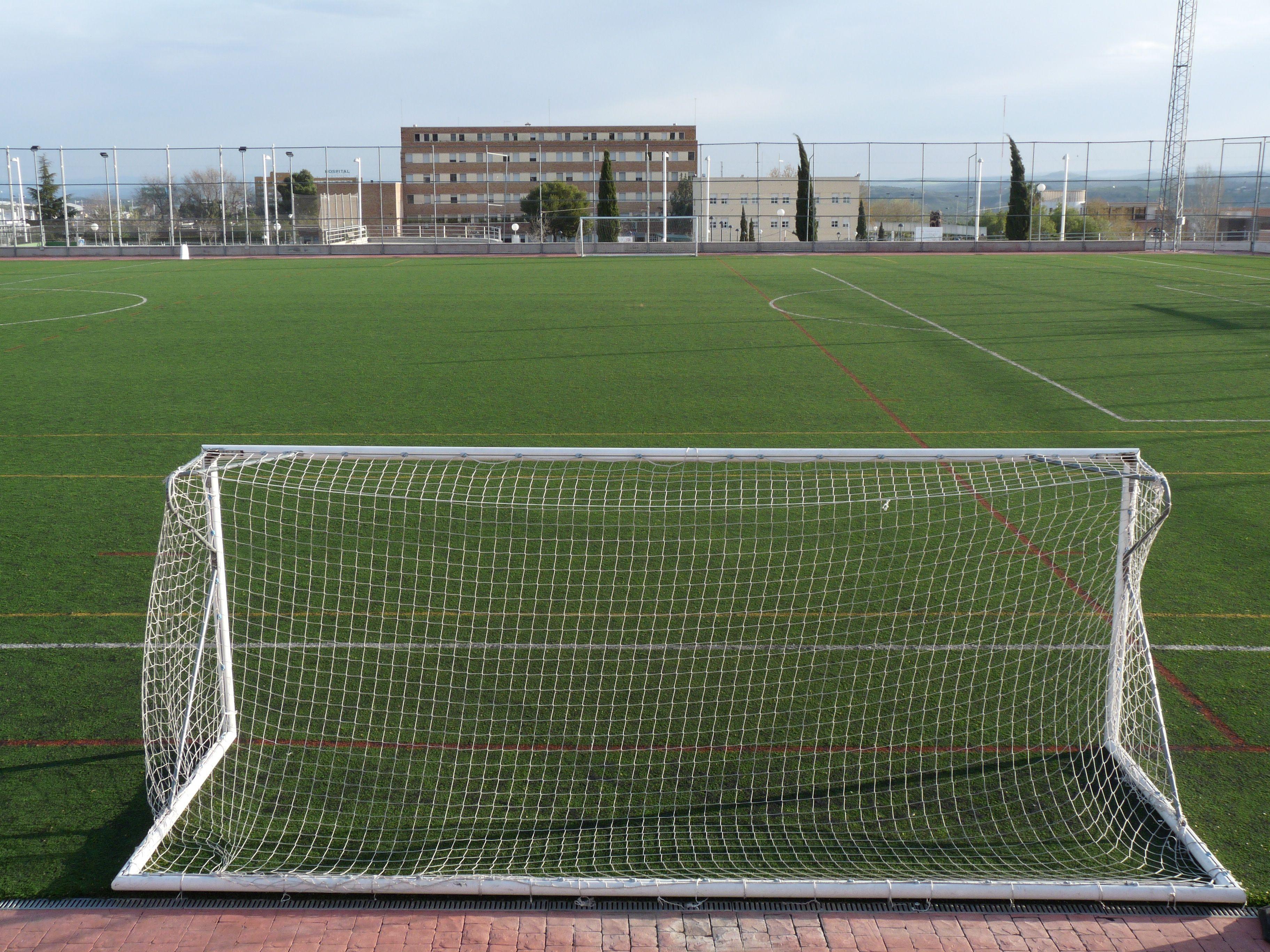 Campo Futbol Cambio De Cesped En El