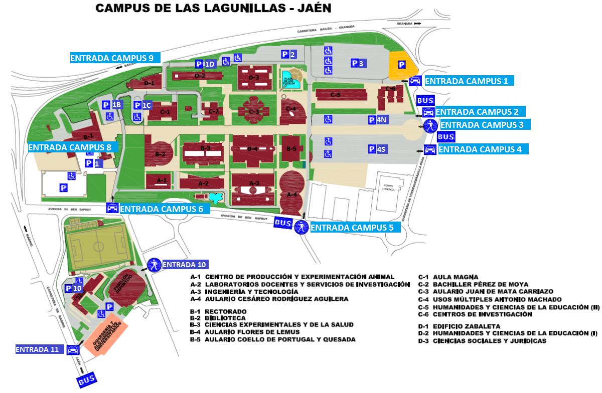 Calendario Ujaen.Horarios De Apertura De Las Puertas De Acceso A Los Campus De La Uja