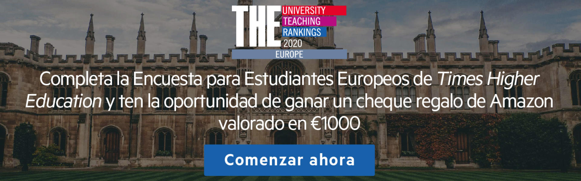 Encuesta Ranking THE (Times Higher Education)